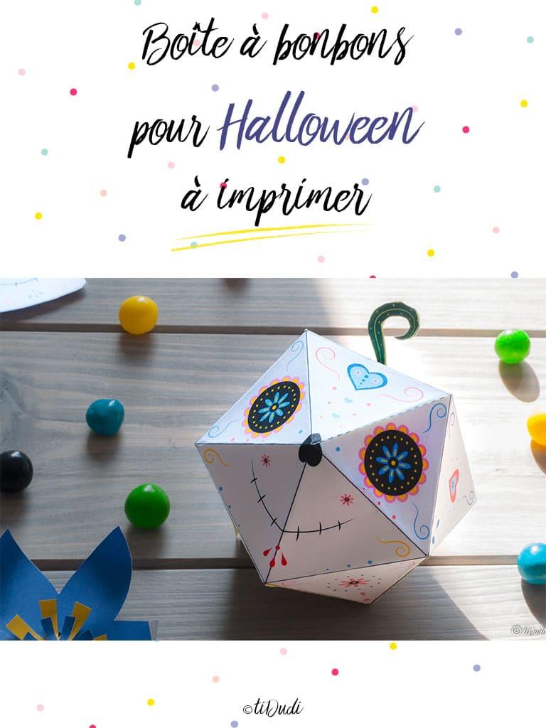Boîte à bonbons d'Halloween - tiDudi