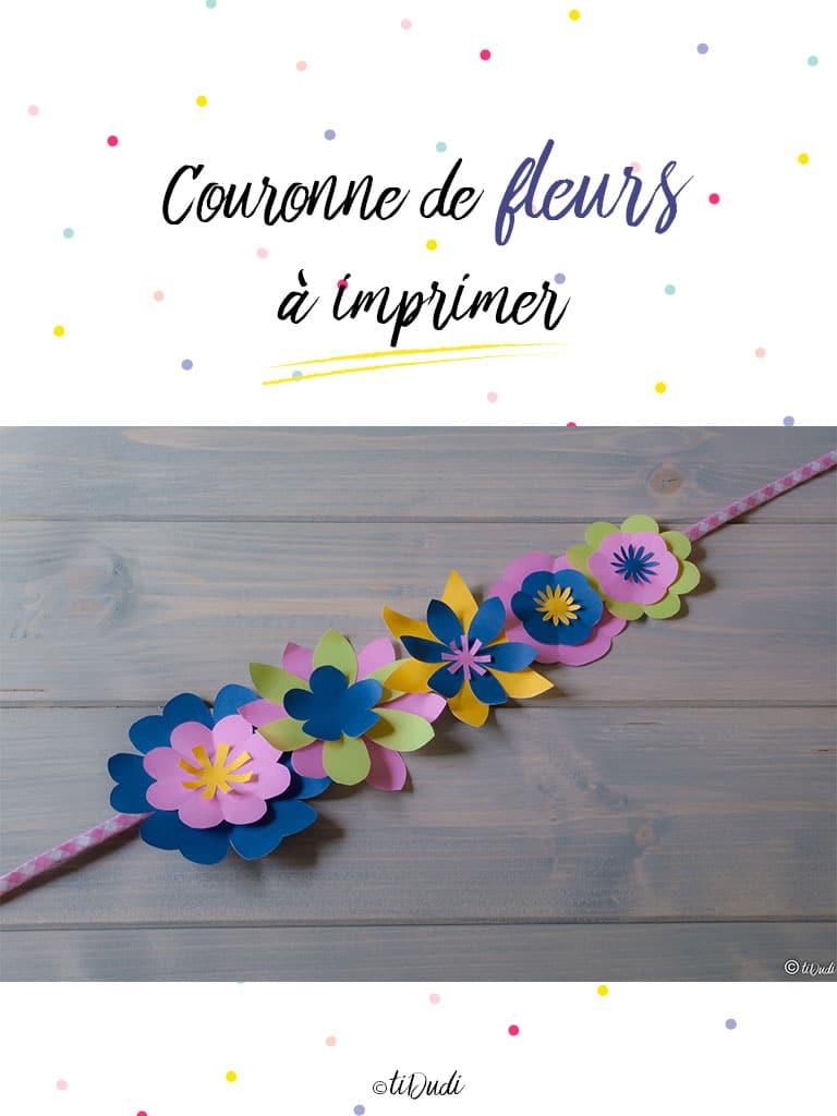 Kit couronne de fleurs - tiDudi - Dia de los muertos - Halloween