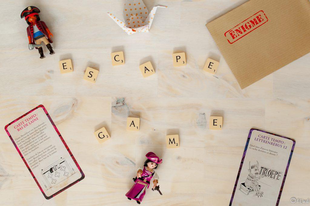 Escape game pour enfants