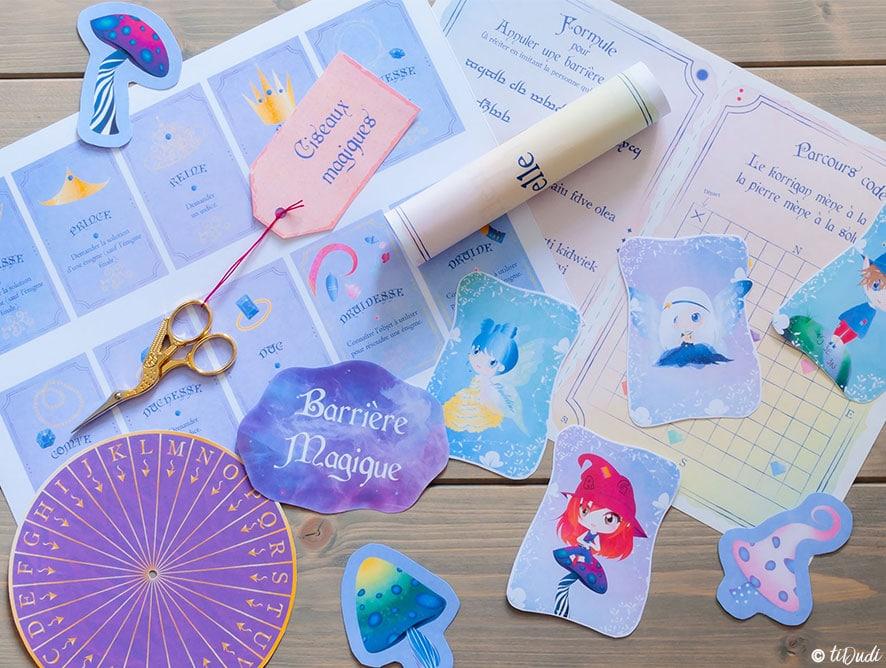 Escape Game pour enfants : à la maison, à imprimer et rejouable