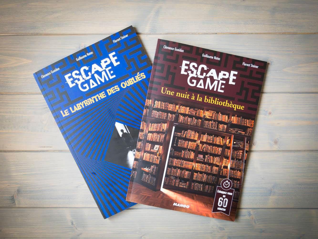 Livre escape game
