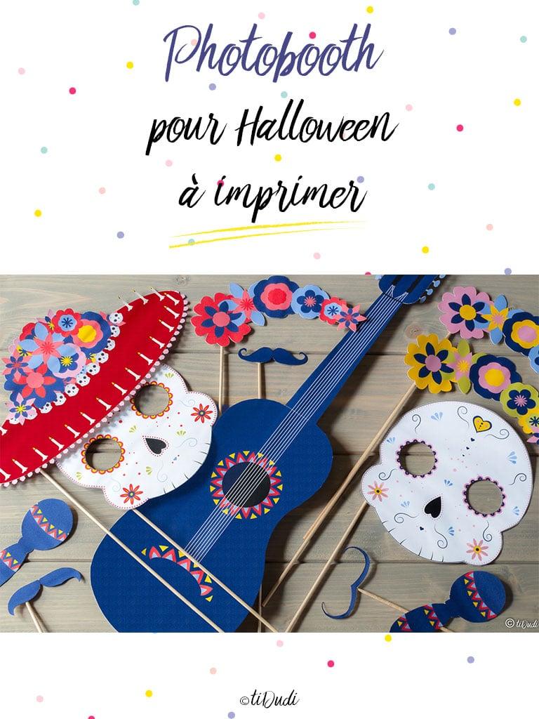 Photobooth Dia de los muertos Halloween - tiDudi