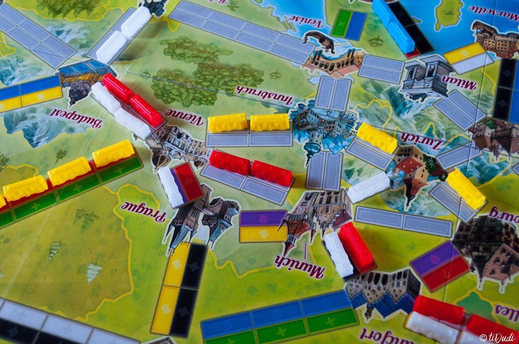 Jeu de société Les aventuriers du rail express Asmodee tiDudi