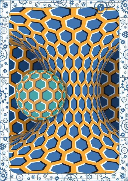 Illusion d'optique, illusion de mouvement, escape game tiDudi