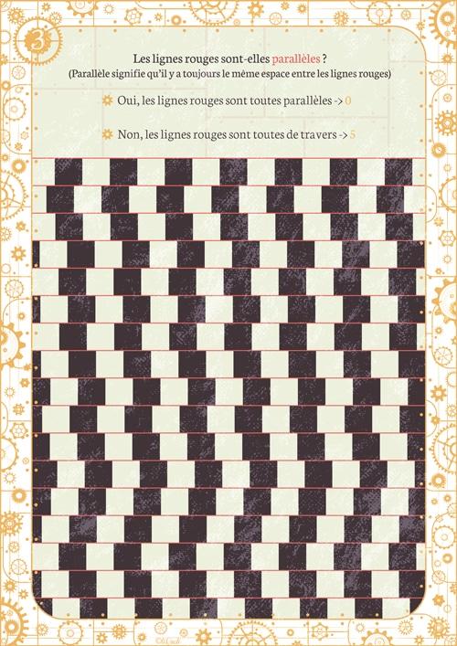 Illusion d'optique de perception escape game tiDudi