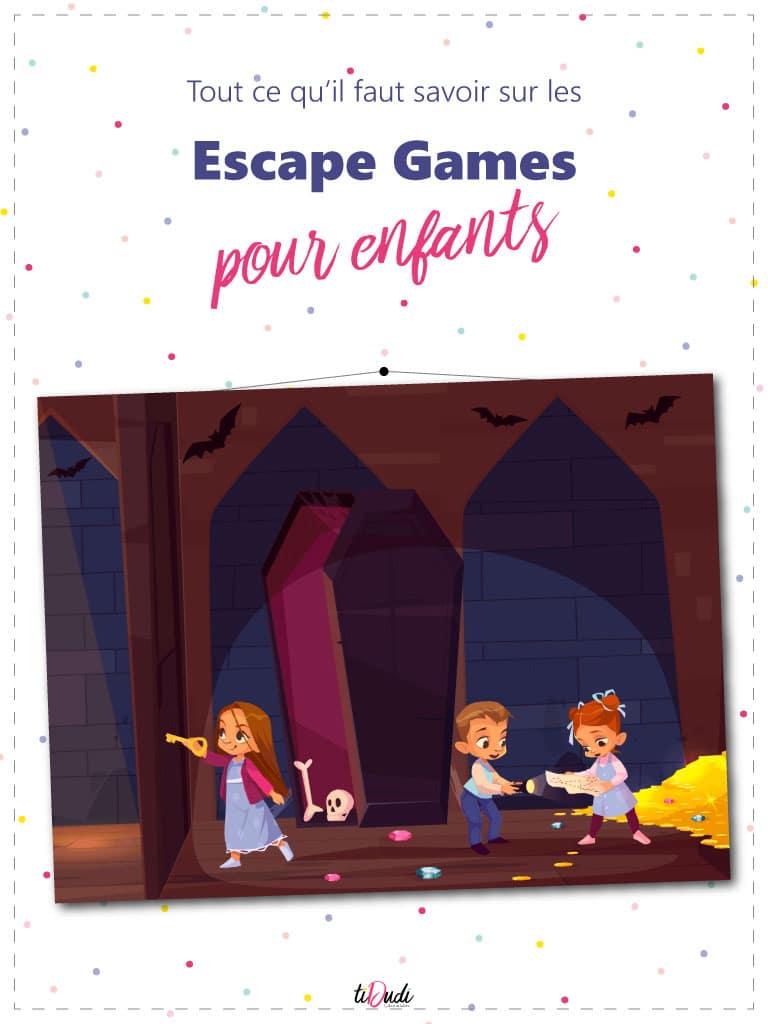 Tout ce qu'il faut savoir sur les escape games pour enfants