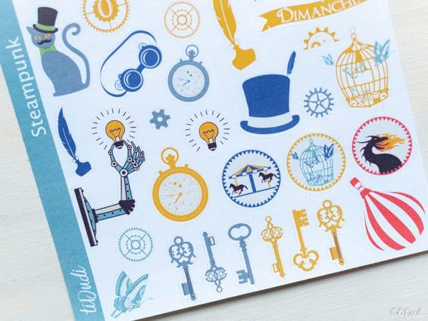 Stickers Steampunk tiDudi