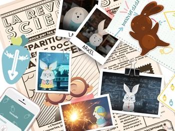 Escape game pour Pâques en famille, à la maison, à imprimer. La Carotte Masquée. tiDudi