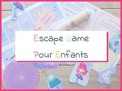 Escape game enfant
