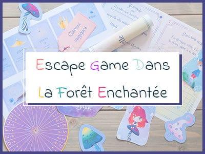 Escape Game dans La Forêt Enchantée