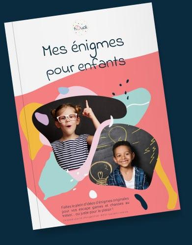 "ebook ""Mes énigmes pour enfants"" tiDudi"